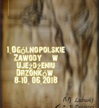 OGÓLNOPOLSKIE ZAWODY W UJEŻDŻENIU – DRZONKÓW 08-10.06.2018